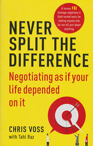 Never Split the Difference: Negotiating as if Your Life Depended on It Paperback $8.99