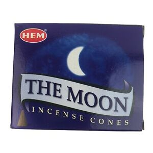 HEM The Moon Incense Cones One Box of 10 Cones