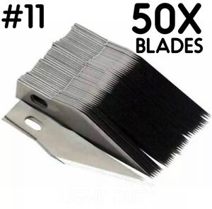 50PCS #11 Blades for x acto Light Duty Knife Replacement Hobby Arts Craft xacto $9.95