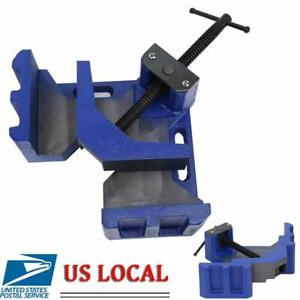 Handheld 90° RIGHT ANGLE WELDING CLAMP Corner Clamp Table Vise Woodworking Tool $67.88