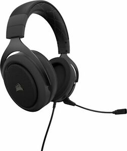 CORSAIR HS60 PRO SURROUND Wired Stereo Gaming Headset Carbon $51.99