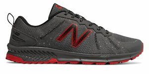 New Balance Men#x27;s 590v4 Trail Shoes Grey with Red