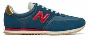 New Balance Mens COMP 100 Shoes Blue with Red $35.25