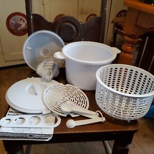 Mainstays Home Microwave Rice And Pasta Cooker Set $8.00