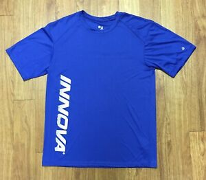 Innova Disc Golf Dry Fit Shirt Innova Logo Mens Medium $25.00