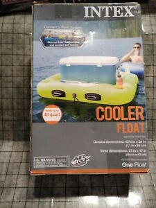 """INTEX Cooler Float Up To 48 Quart Connect amp; Float System 43.5"""" X 34"""" New In Box"""