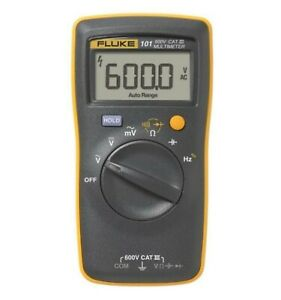 Fluke 101 Basic Digital Multimeter Pocket Portable Meter Equipment Industrial... $55.35