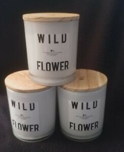 Wolf Lamb Wild Flower Soy Candle lot of 3 $49.99