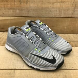 Nike Mens Zoom Speed Tr3 Training Shoes Gray 804401 007 Low Top Lace Up 9.5 M $39.99