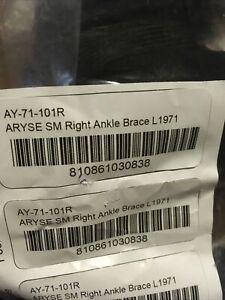 ARYSE ankle brace Small Right AY 71 101R NEW Free Shipping $21.99