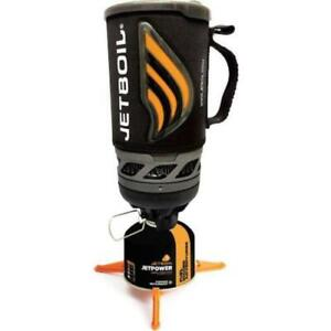 Jetboil Flash Personal Stove Cooking System Backpacking Camping Stove Carbon