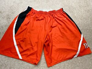 Nike Shorts Mens 3XL Orange $14.44