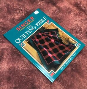 Singer Sewing Reference Library quot;The Quilting Biblequot; Paperback $7.95