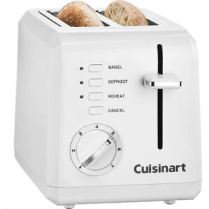 Cuisinart CPT 122 Compact 2 Slice Toaster White $29.99