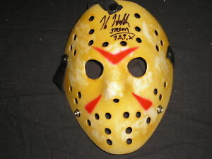 KANE HODDER Signed Jason Voorhees Mask Autograph Friday the 13th Horror COA $69.99
