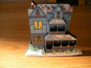SHELIA 1998 WOODEN REPLICA LIMITED EDITION THE NIGHT BEFORE CHRISTMAS $20.00