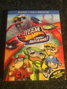 Team Hot Wheels The Original of Awesome Blu Ray DVD Dig ....FACTORY SEALED $3.49