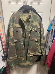 Yeezy Season 4 Camouflage Jacket Mens Large Brand New W Tags amp; Receipt