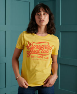 Superdry Womens 70S Classic T Shirt $16.43