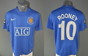 Manchester United Rooney Jersey 2008 2009 Football Anniversary Mens Shirt Size M $43.99
