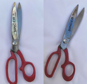 Professional Singer Tailor Scissors Upholstery Dressmaking Material Fabric Cloth GBP 14.99