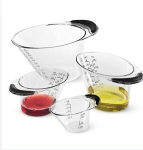 Pampered Chef Easy Read Measuring Cup Set $35.00