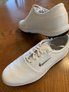 NWOB Mens White Nike Air Zoom Victory Tour Golf Shoes Size 9 $75.00