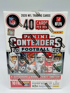 2020 Panini Contenders Football NFL Blaster Box Brand New Factory Sealed $54.95