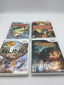 Wii Hunting Games Lot R1S1L3