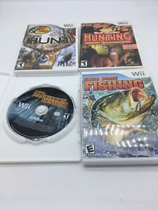 Wii Hunting Games Lot R1S1L8