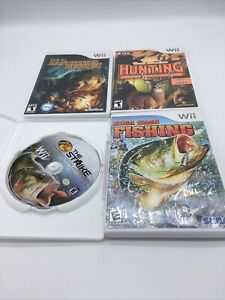 Wii Hunting Games Lot R1S1L9