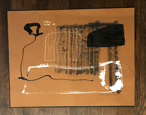 "William McLure IV Original Signed painting Abstract Art mcclure 19.75 X 25.5"" $390.00"
