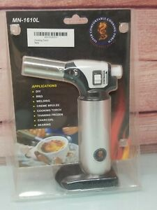 Cooking Torch Crème Brûlée Blow Torch With Safety Lock