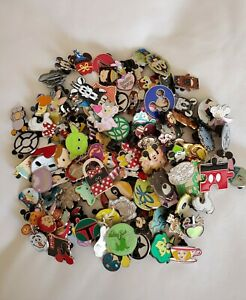 NEW DISNEY TRADING PINS 50 LOT NO DOUBLES HIDDEN MICKEY Free Priority Shipping $27.49