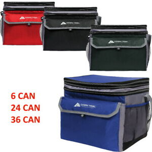 Soft Sided Cooler Outdoor Camping Picnic Insulated Lunch Box 6 24 36 CANS