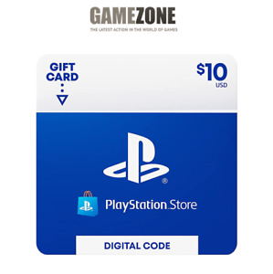 $10 PlayStation Store USD Card PS PSN US Store Instant Code PS4 PS3 PSP $11.99