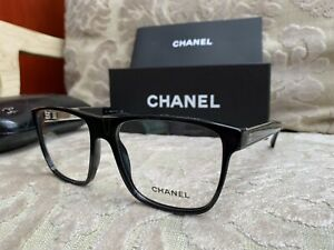 CHANEL Eyeglass RX Authentic Large frames 3276 c.501 140mm New with Case $485 $420.10