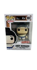 Funko Pop Office Andy Bernard In Sumo Suit 1061 Target Exclusive In Hand Now $14.99