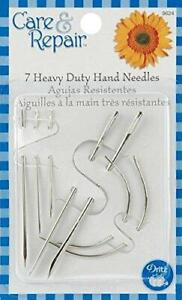 Dritz 9624D Assorted Heavy Duty Hand Needles 7 Pack $5.79