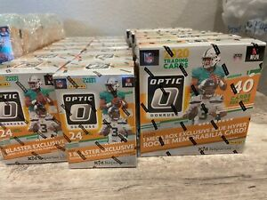 2020 Panini Donruss Optic Football Mega Blaster Hanger Cello Optic Options $37.00