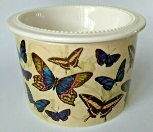 Grasslands Road Butterflies Dip Server Ice Holder and Bowl Two Piece Set #471180