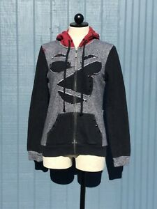 Disney Collection By California Laundry Hoodie Mickey Logo With Studs Size M $20.00
