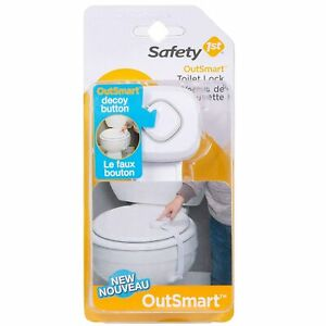 Safety 1st OutSmart Toilet Lock White $8.65