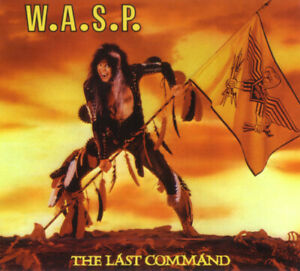 WASP The Last Command CD HEAVY METAL Remastered W.A.S.P. BONUS $14.99