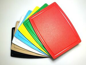 Professional Plastic Cutting Boards 16x10.5x1 2 thick Choose your color $16.80