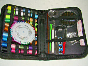 SEWING KIT amp; ZIPPERED CASE $2.99