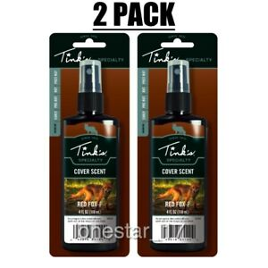 Lot of 2 Tink#x27;s Power Cover Scents Red Fox P Cover Scent Hunting Scent 4 ounce