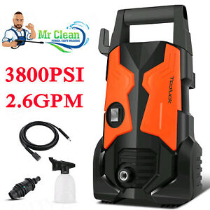 3800PSI 2.6GPM Electric Pressure Washer High Power Portable Cleaner Sprayer $125.99