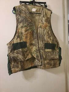 OZARK TRAIL Camo GAME BAG HUNTING VEST Pheasant amp; Small Game AMMO SLOTS Size XL