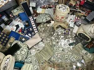 🔥MONEY VINTAGE HOARD 🔥 GOLD 90% SILVER BULLION 🔥 ESTATE LOT OLD US COINS $23.95